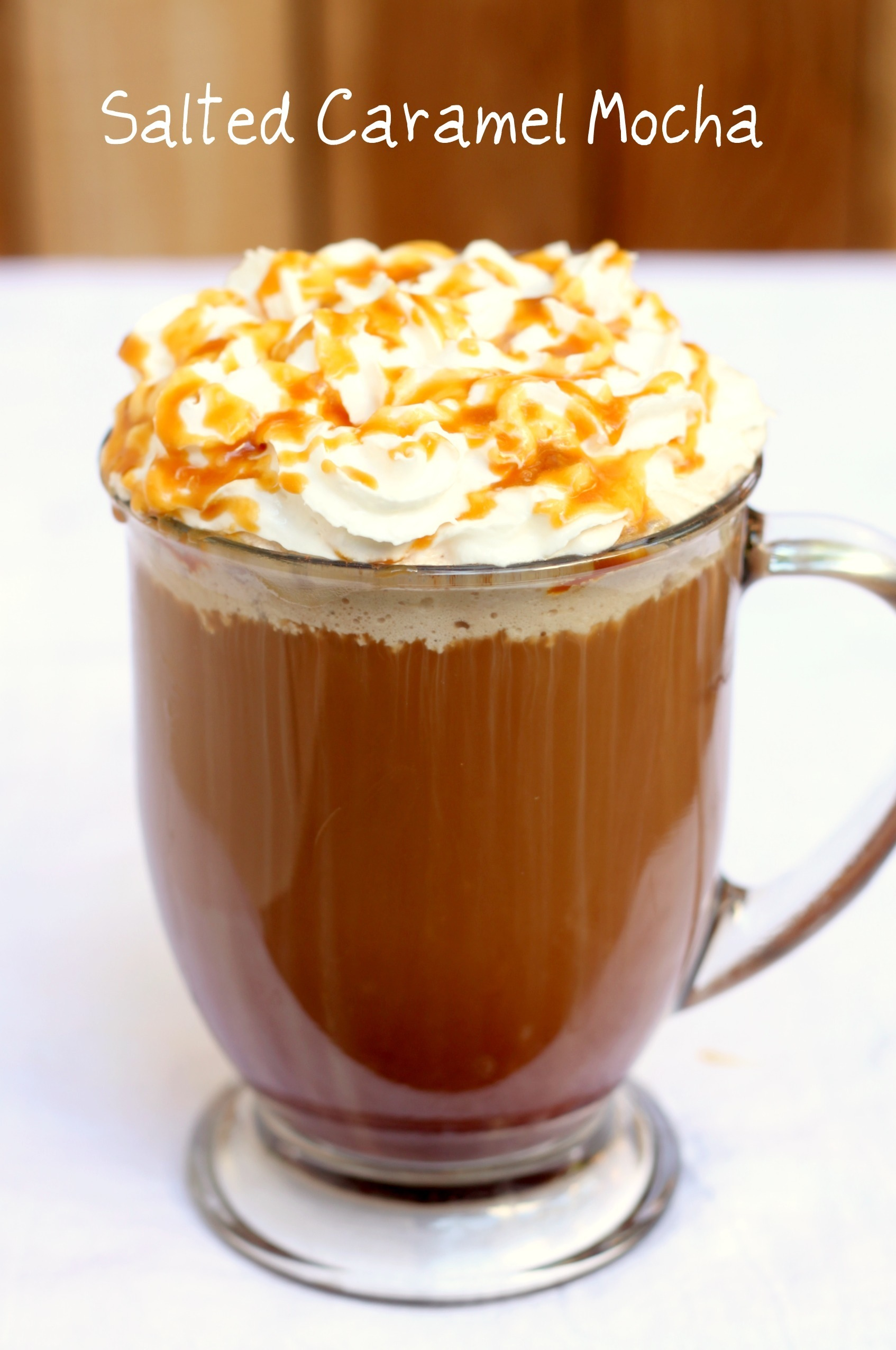 DIY STARBUCKS SALTED CARAMEL HOT CHOCOLATE / MOCHA (; GOOD FOR THE ...